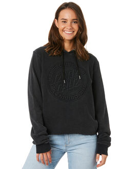 ACID BLACK WOMENS CLOTHING SANTA CRUZ JUMPERS - SC-WFC9895ACBLK