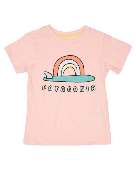 SINGLE FIN SUNRISE KIDS TODDLER GIRLS PATAGONIA TOPS - 60386SFRP