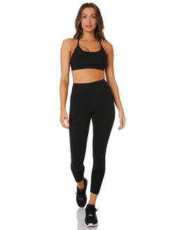 BLACK WOMENS CLOTHING LORNA JANE ACTIVEWEAR - LB0084BLK