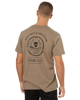 STONE MENS CLOTHING SEA SHEPHERD TEES - SSA810SSTONE