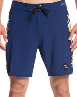 MEDIEVAL BLUE MENS CLOTHING QUIKSILVER BOARDSHORTS - EQYBS04077-BTE6