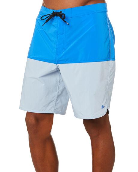 BLUE FOG PALACE BLUE MENS CLOTHING VANS BOARDSHORTS - VN0A49QTYMABLUF