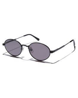 MATTE BLACK MENS ACCESSORIES CRAP SUNGLASSES - NEWRI901GGMBLK