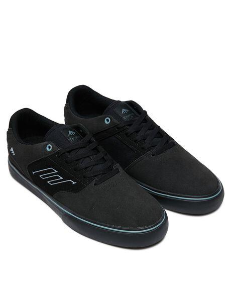 GREY BLACK BLUE MENS FOOTWEAR EMERICA SNEAKERS - 6101000131034