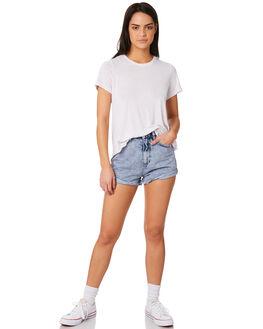 PURPLE WOMENS CLOTHING INSIGHT SHORTS - 5000002775PURP