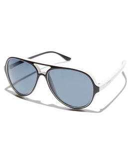 BLACK WHITE MENS ACCESSORIES CHILDE SUNGLASSES - CLD-G0605210BLKWH