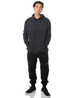 GD BLACK MENS CLOTHING ZANEROBE JUMPERS - 406-FLDGDBLK
