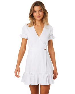 WHITE WOMENS CLOTHING MLM LABEL DRESSES - MLM419AWHT