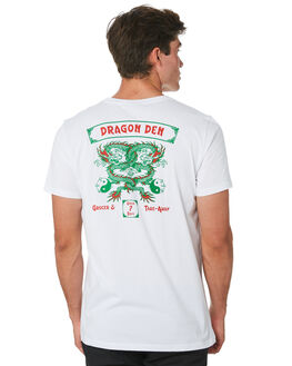 WHITE MENS CLOTHING DEPACTUS TEES - D5194005WHITE