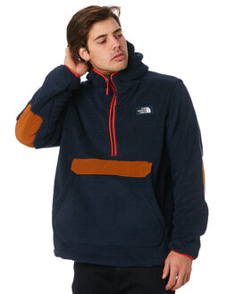 NAVY CARAMEL MENS CLOTHING THE NORTH FACE JUMPERS - NF0A33QVADJ