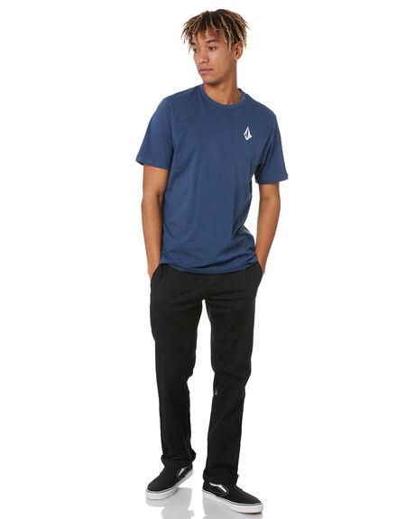 BLUE MENS CLOTHING VOLCOM TEES - A5002010BLU