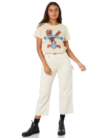 THRIFT WHITE WOMENS CLOTHING THRILLS TEES - WTW20-109ATHWHT