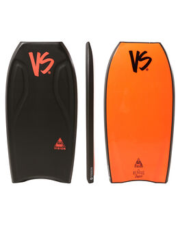 BLACK RED BOARDSPORTS SURF VS BODYBOARDS BOARDS - V18VISION42BLBLKRD