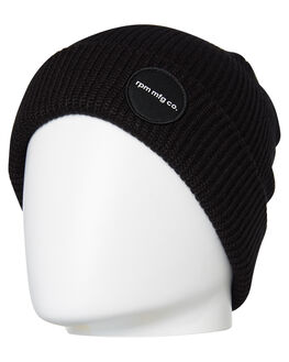 BLACK MENS ACCESSORIES RPM HEADWEAR - 9AAC03A8BLK