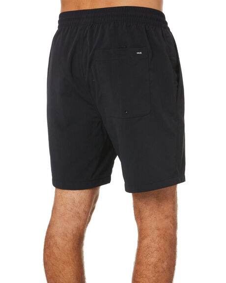 BLACK MENS CLOTHING HURLEY SHORTS - CI7345010