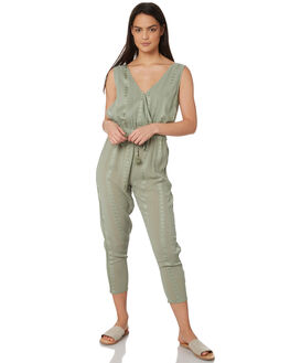 KHAKI WOMENS CLOTHING JORGE PLAYSUITS + OVERALLS - 8320083KHAK