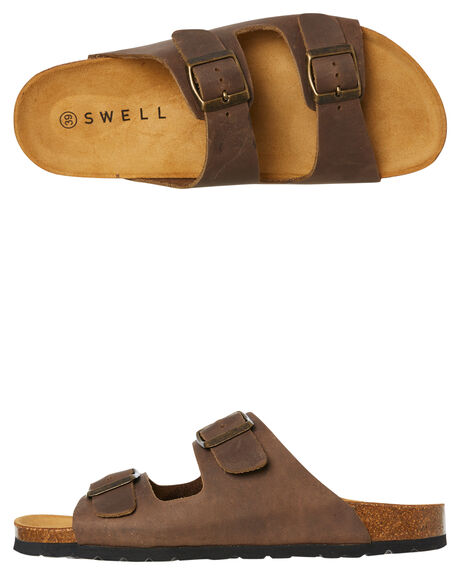 TAUPE WOMENS FOOTWEAR SWELL FASHION SANDALS - 100010LTAUPE