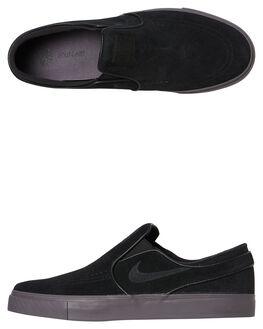 BLACK BLACK MENS FOOTWEAR NIKE SLIP ONS - 833564-008
