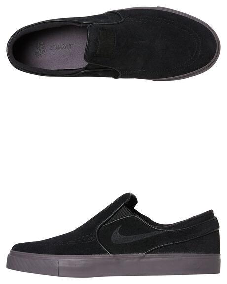 130fe47770 Nike Sb Zoom Stefan Janoski Slip On Shoe - Black Black