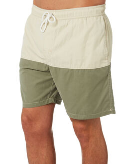 MILITARY TAN MENS CLOTHING SWELL BOARDSHORTS - S5184251MILTN