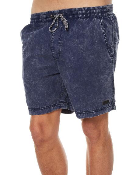 LAGOON BLUE MENS CLOTHING GLOBE SHORTS - GB01516005LAGBL