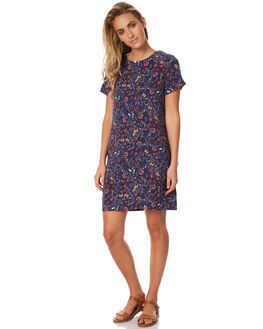 FOLK PRINT WOMENS CLOTHING ALL ABOUT EVE DRESSES - 6401080PRNT