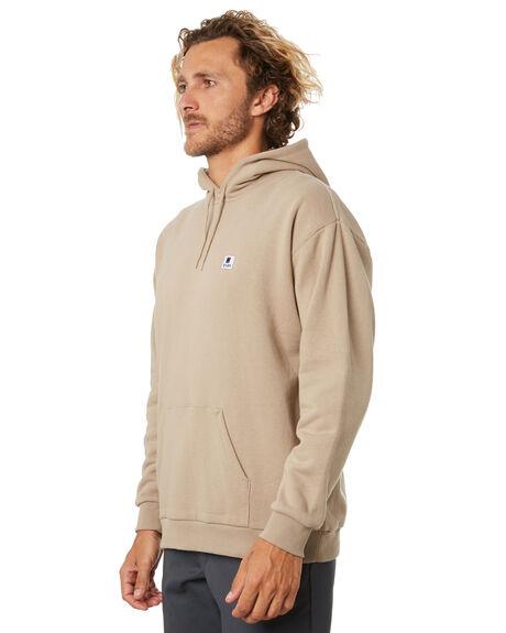 LIGHT KHAKI MENS CLOTHING BRIXTON JUMPERS - 02688LTKHK