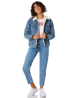 ADDICTED TO LOVE WOMENS CLOTHING LEVI'S JACKETS - 36137-0005ADD