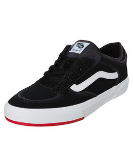 BLACK MENS FOOTWEAR VANS SNEAKERS - VNA4BTTSK5