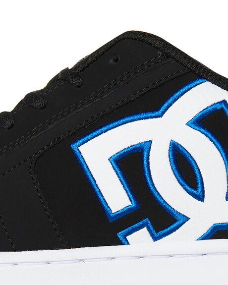 BLACK BLACK BLUE MENS FOOTWEAR DC SHOES SNEAKERS - 302361XKKB