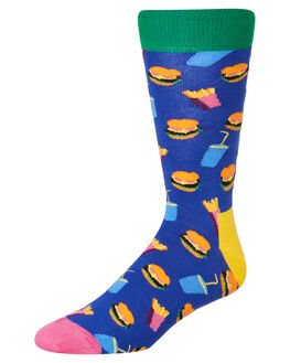 MULTI MENS CLOTHING HAPPY SOCKS SOCKS + UNDERWEAR - HAM01-6000MULTI