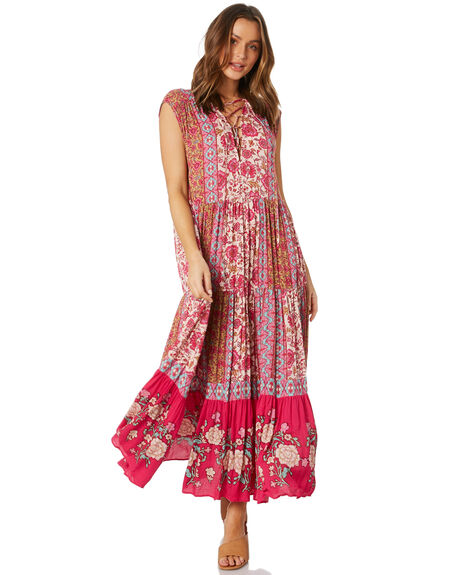 PINK WOMENS CLOTHING FREE PEOPLE DRESSES - OB11116746602