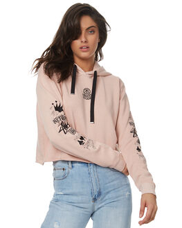 DUSTY PINK WOMENS CLOTHING STUSSY JUMPERS - ST171315DPK