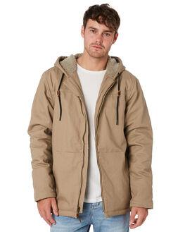 KHAKI MENS CLOTHING O'NEILL JACKETS - HO810210413C