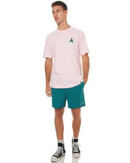 PINK MENS CLOTHING HUF TEES - TS00145PNK