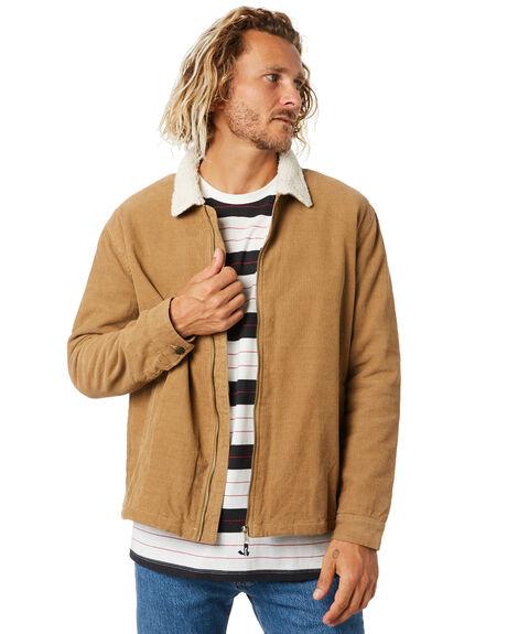 TAN MENS CLOTHING DEPACTUS JACKETS - D5204381TAN