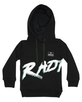 BLACK KIDS BOYS RADICOOL DUDE JUMPERS + JACKETS - RD1101BLK