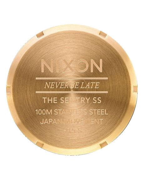 ALL GOLD BLACK MENS ACCESSORIES NIXON WATCHES - A356-3192