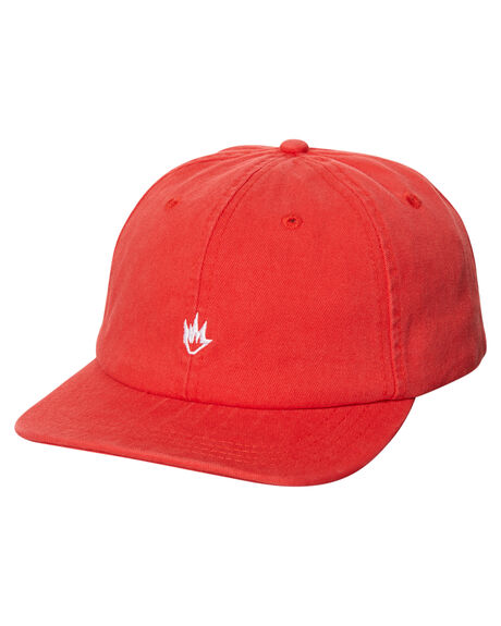 RED MENS ACCESSORIES AFENDS HEADWEAR - 13-08-040RED