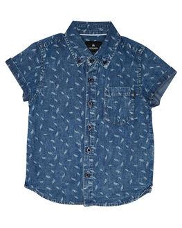 BLUE KIDS BOYS ST GOLIATH TOPS - 2821025BLU