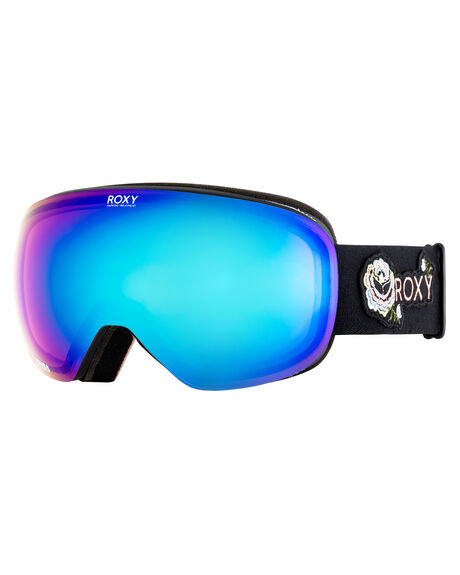 TRUE BLACK TORA ROSE BOARDSPORTS SNOW ROXY GOGGLES - ERJTG03059KVJ1