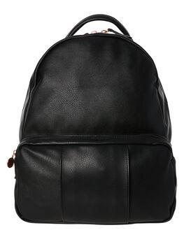 BLACK WOMENS ACCESSORIES RUSTY BAGS + BACKPACKS - BPL0416BLK