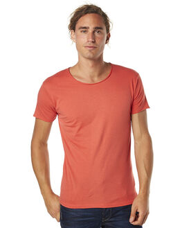 FIERY RED MENS CLOTHING SILENT THEORY TEES - 4083037FRED