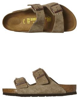 TAUPE WOMENS FOOTWEAR BIRKENSTOCK FASHION SANDALS - 051461TAU