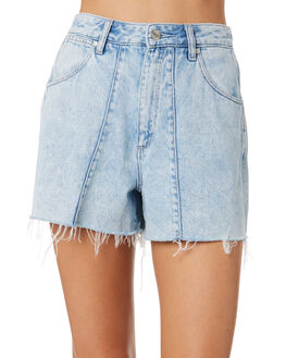 LILLITH BLUE WOMENS CLOTHING WRANGLER SHORTS - W-951565-MM3