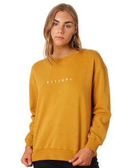 SUNLIGHT YELLOW WOMENS CLOTHING THRILLS JUMPERS - WTS9-204KSYEL
