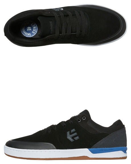 BLACK DARK GREY MENS FOOTWEAR ETNIES SNEAKERS - 4101000454-564