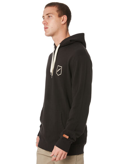 BLACK MENS CLOTHING STACEY JUMPERS - STFLE001TVBK