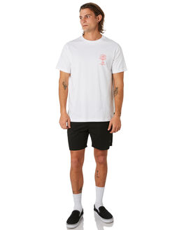 WHITE OUTLET MENS LOWER TEES - LO19Q4MTS09WHT