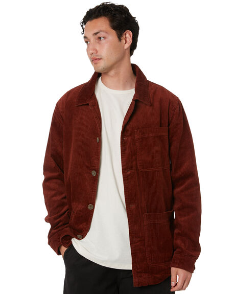 BRANDY MENS CLOTHING SWELL JACKETS - S5203383BRNDY